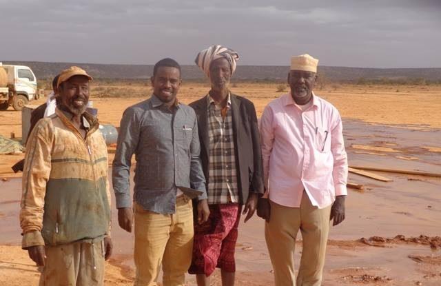 Shirkadda NUWACO oo deegaanka Xaarxaarka ka qoday Ceelka ugu dheer Somalia